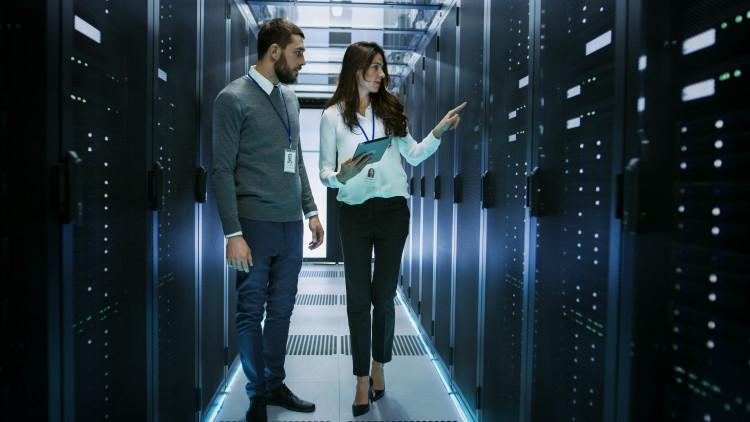 Computer network architects discuss network design
