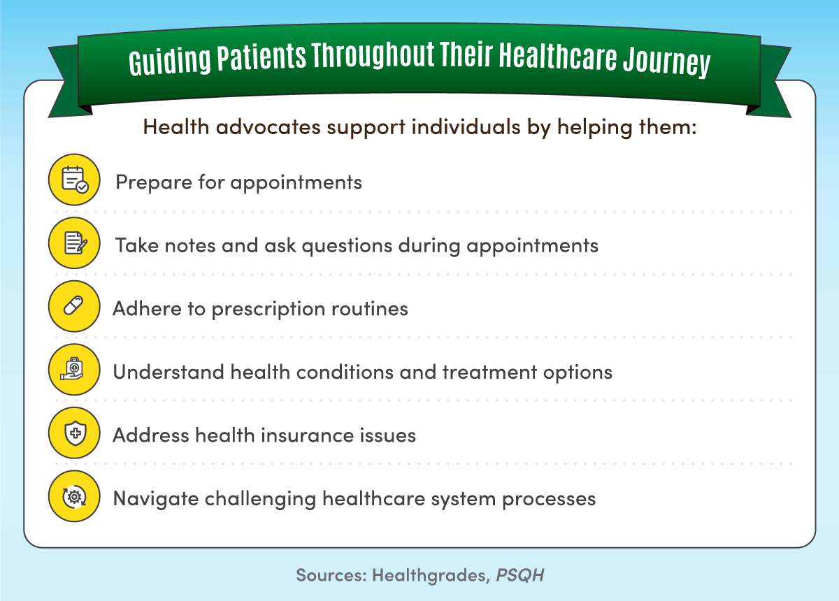 Six ways health advocates can support patients