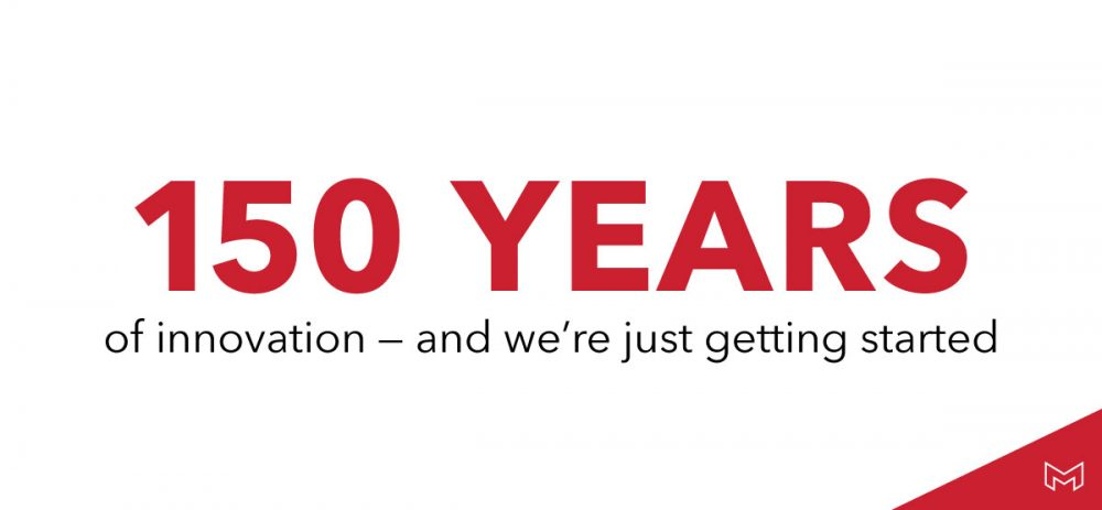 150 years of innovation