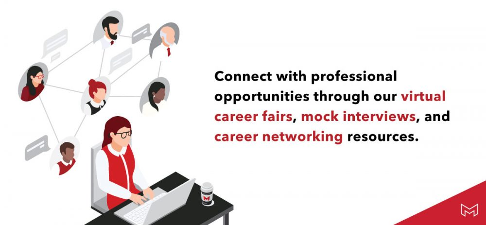 connect with professional opportunities
