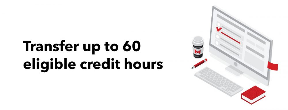 transfer up to 60 eligible credit hours