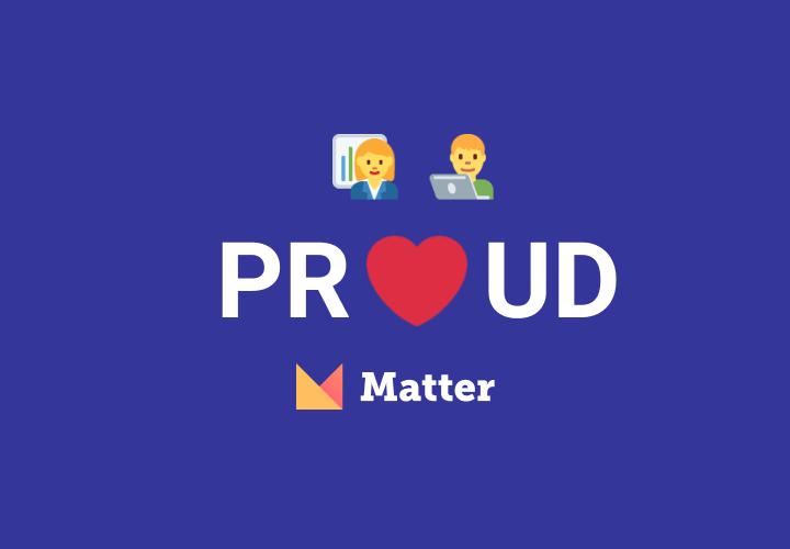 Spouse POV: 'So Proud of Matter's Social Impact Product Nomination'