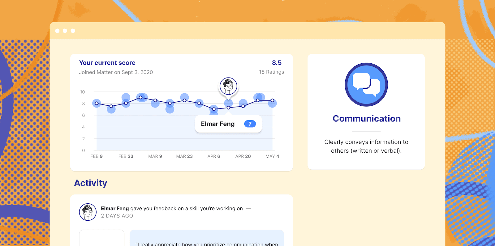 New Feature: Analytics for your feedback and skills is here!