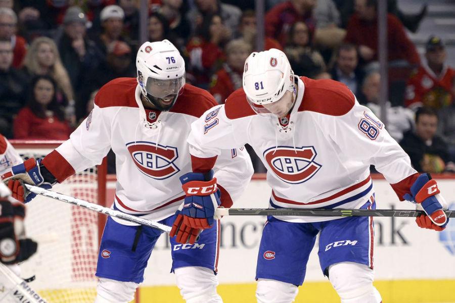 NHL: JAN 17 Canadiens at Blackhawks