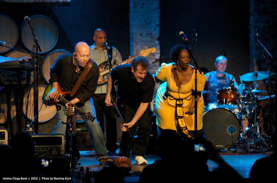 Johnny Clegg Band - Publicity Images
