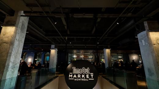 Ouverture du Time Out Market à Montréal