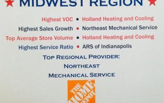 Midwest Region Home Depot HVAC