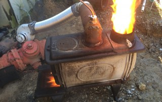Old Oil Burner
