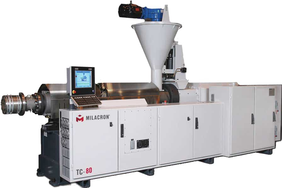 Milacron Conical Twin Screw TC Series Extrusion Machine