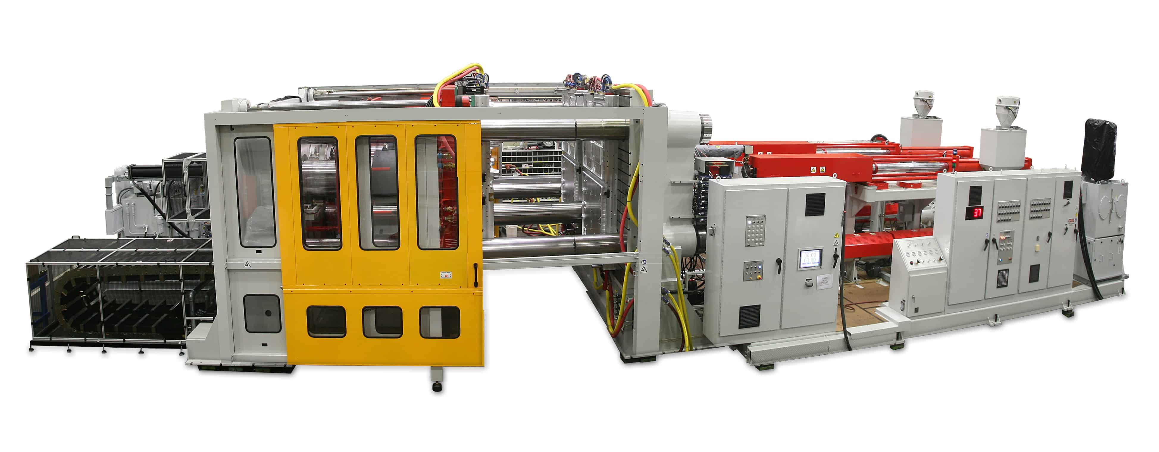 Photo of Uniloy LPIM - low pressure injection blow molding machine