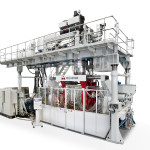 Uniloy UMA industrial blow molding machine