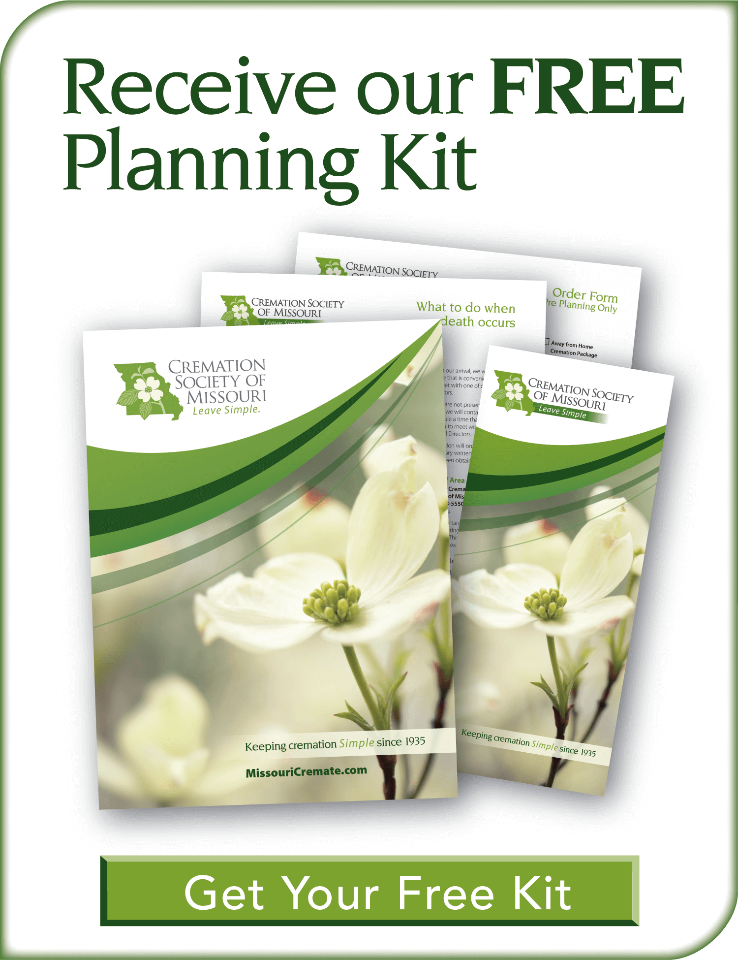 Get a FREE Planning Kit