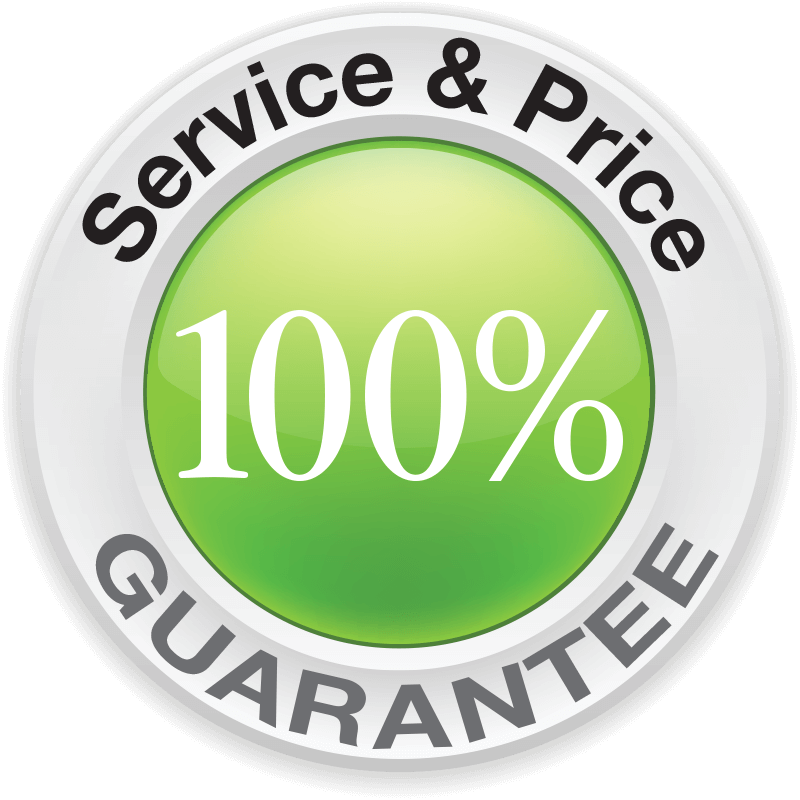 100% Service & Price Guarantee