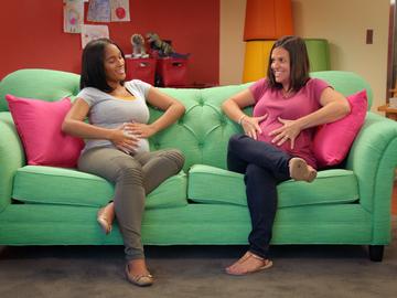 Pregnant sofa ahn