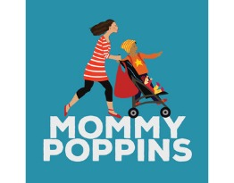 Mommy poppins logo