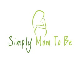 Simply mom to be logo