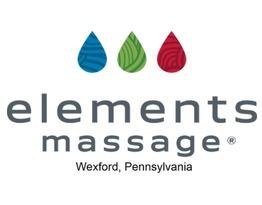 Elements massage  web logo