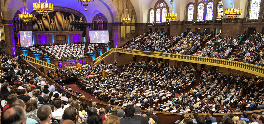Easter Sunday Service at The Moody Church Chicago