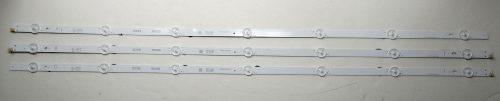 Vizio IC-C-VZAA39D924A/B/C Backlight LED Strips (3) For D39f-F0