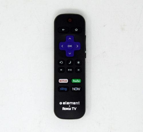 Element 101018E0030 Roku TV Remote Control For E4SJ5518RKU, E4SW5017RKU, E2SW6518RKU, E4SW5518RKU