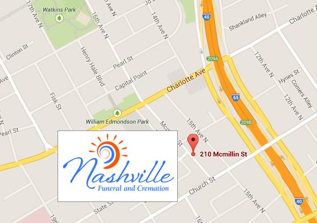 Nashville Funeral and Cremation 210 McMillan St. Nashville TN 37203