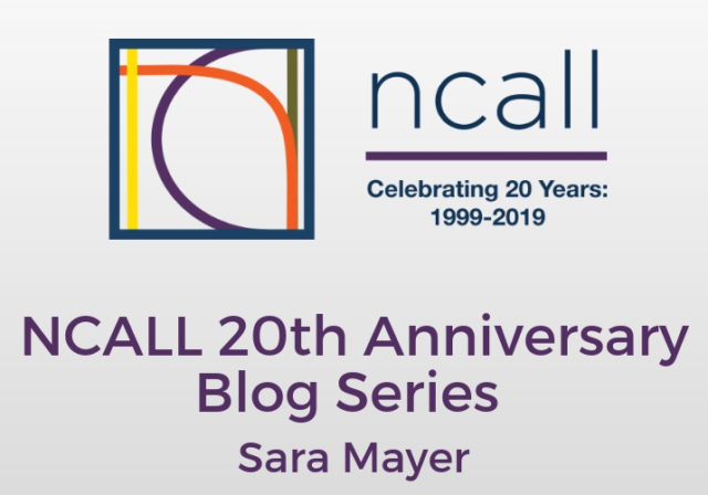 NCALL 20th Anniversary Blog Series graphic