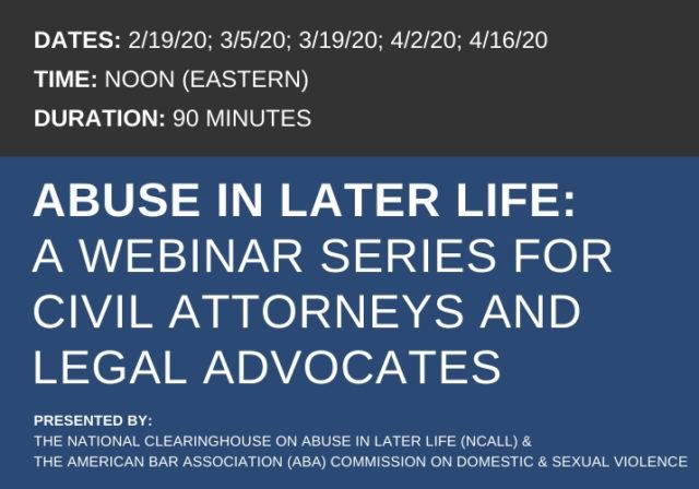 Legal Webinar Series