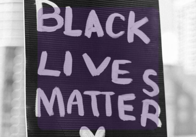Graphic that reads: Black Lives Matter