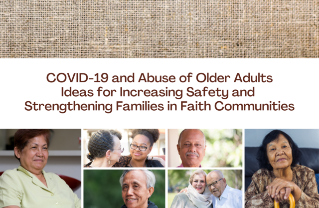 Collage of older adults of various ages, races, and ethnicities