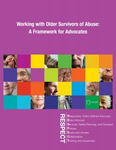 Working with Older Survivors of Abuse front cover