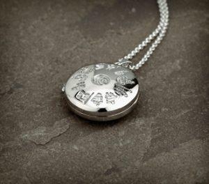 Sterling Silver History of Ireland Celtic Locket