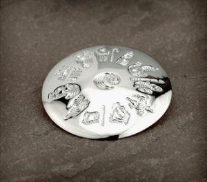 History Of Ireland Sterling Silver Brooch