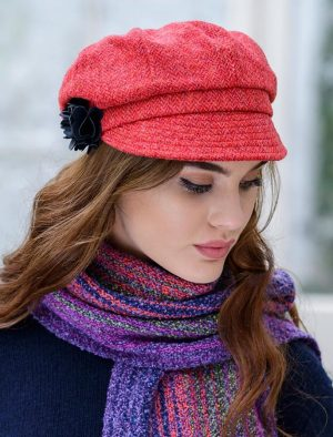 Ladies Mucros Tweed Hat