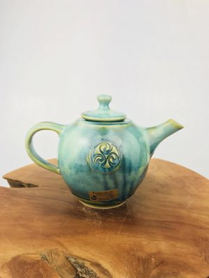 Colm De Ris Green Breakfast Tea Pot (r9)