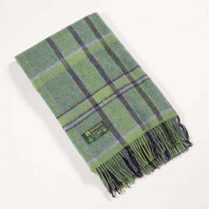 John Hanly Green Wool Blanket 109
