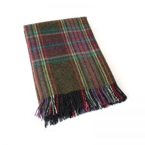 John Hanly Irish Wool Blanket 178