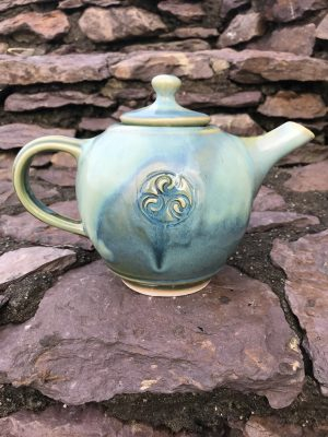 Colm De Ris Green Breakfast Tea Pot