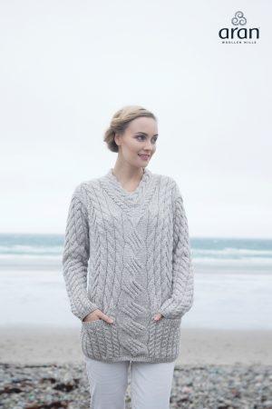 Super Soft Merino Wool Aran Sweater