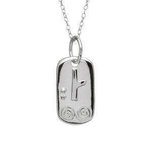 Sterling Silver November Silver Celtic Astrology