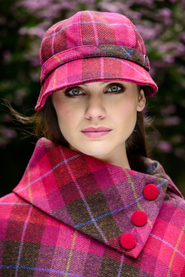 5400281a2e2 Ladies Pink Flapper Hat By Mucros Weavers Killarney. Skellig Gift Store