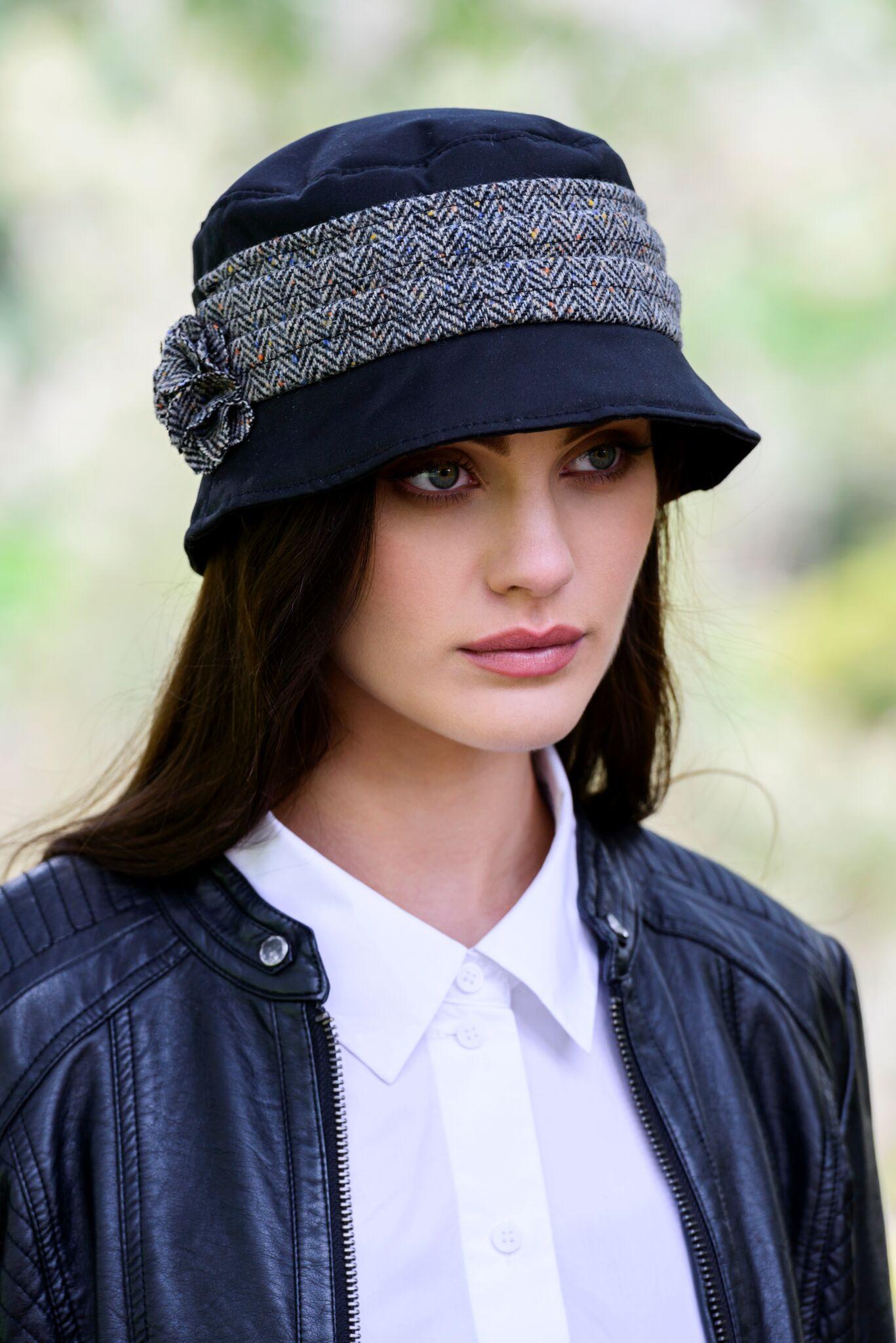 Mucros Black Kate Wax Hat - Skellig Gift Store Waterville 5943eb68adac