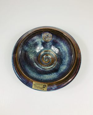 Colm De Ris Blue Medium Standard Bowl D3