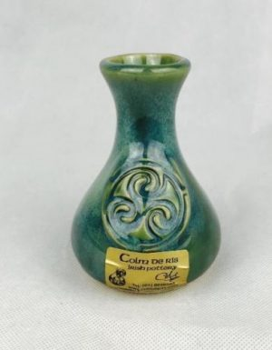 Colm De Ris Green Bud Vase i1a