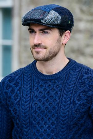 Mucros Irish Blue Patch Cap