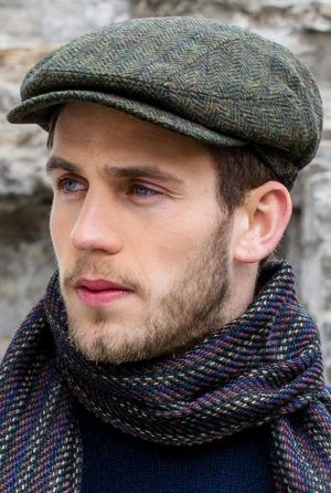 Green Mucros Kerry Cap