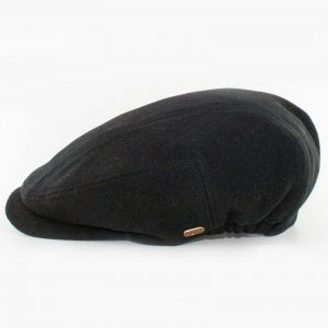 Black Kerry Flat Cap