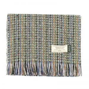 Multi Color Donegal Tweed Scarf Mucros Weavers dt31