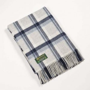 Lambswool Irish Blanket John Hanly 612