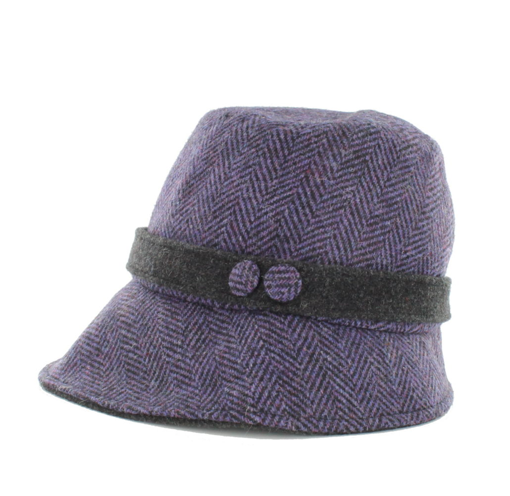 a0f081e88c9 Women s Purple Clodagh Mucros Tweed Hat- Skellig Gift Store