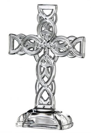 Galway Crystal Celtic Cross 34002